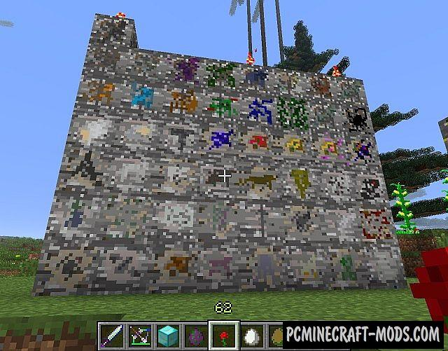 Ore Spawn Mod For Minecraft 1.7.10, 1.6.4