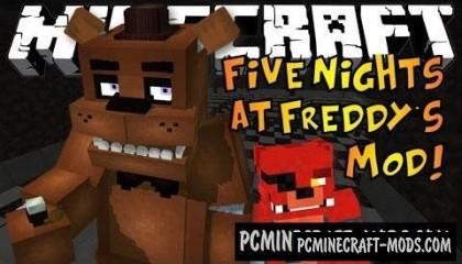 Five Nights at Freddy's - Horror Mod For Minecraft 1.7.10