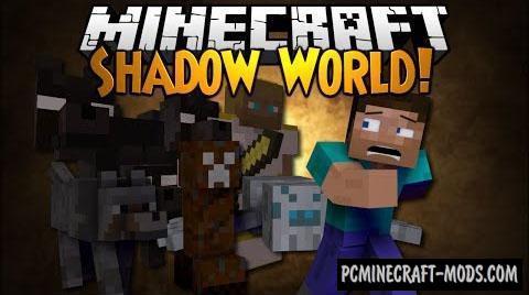 Shadow World Mod For Minecraft 1.7.10, 1.7.2