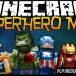 SuperHeroes Of Marvel Minecraft PE Mod 1.9.0, 1.8.0