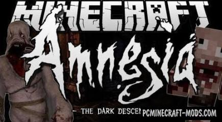 The Amnesia - Horror Mod For Minecraft 1.7.10