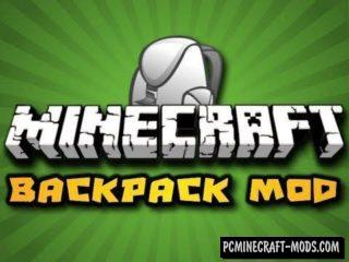 Backpacks Mod For Minecraft 1.12.2, 1.10.2, 1.9.4, 1.7.10