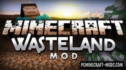 Wasteland - Surv, Generation Mod For Minecraft 1.7.10