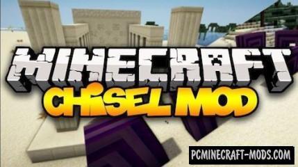 Chisel - Decor Blocks Mod For Minecraft 1.7.10, 1.6.4