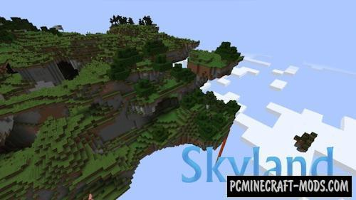 Skyland Mod For Minecraft 1.12.2, 1.11.2, 1.10.2, 1.8.9