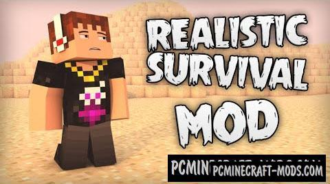 Realistic Survival Mod For Minecraft 1.7.10