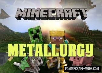 Metallurgy Mod For Minecraft 1.7.10, 1.7.2, 1.6.4