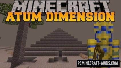 Atum: Journey into the Sands Mod For Minecraft 1.7.10, 1.7.2, 1.6.4