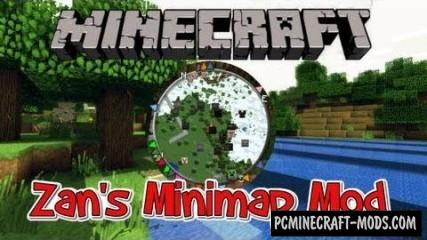 Zan's Minimap Mod For Minecraft 1.7.10, 1.7.2, 1.6.4
