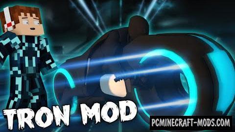 Tron Mod For Minecraft 1.7.10