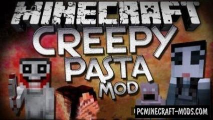 CreepyPastaCraft Revived - Horror Mod MC 1.7.10, 1.6.4