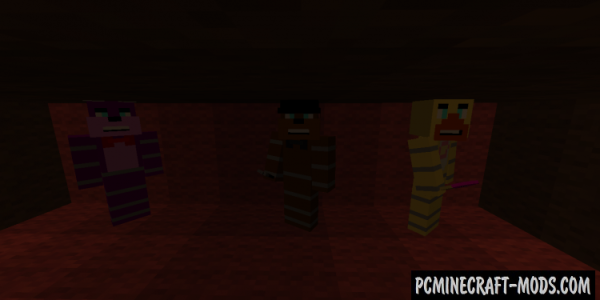 Five Nights at Freddy's Mod For Minecraft 1.7.10