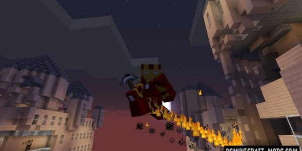 Super Heroes Mod For Minecraft 1.7.10, 1.7.2, 1.6.4