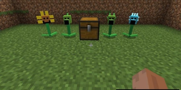 Plants vs Zombies Mod For Minecraft 1.7.2, 1.6.4