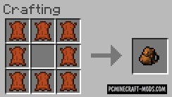 Backpacks Mod For Minecraft 1.8, 1.7.10