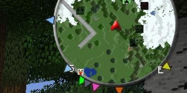 Zan's Minimap Mod For Minecraft 1.7.10, 1.7.2, 1.6.4