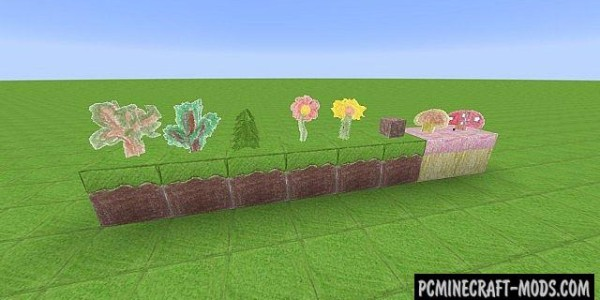 Pencil Pack Mod For Minecraft 1.8.1,1.8