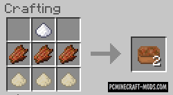 More Meat 2 Mod For Minecraft 1.7.10, 1.7.2, 1.6.4, 1.5.2