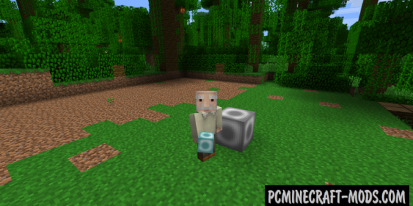 Clearing Block Mod For Minecraft 1.7.10, 1.6.4