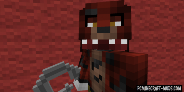 Five Nights At Freddy's 2 Mod For Minecraft 1.7.10