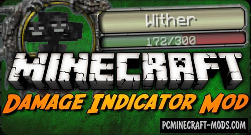 Damage Indicators - HUD Mod For Minecraft 1.12.2