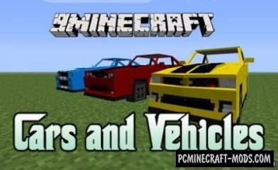 Cars and Vehicles Mod For Minecraft 1.6.4