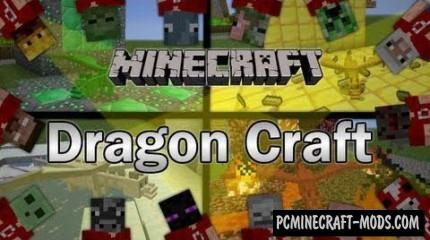 Dragon Craft - Creatures Mod For Minecraft 1.6.4
