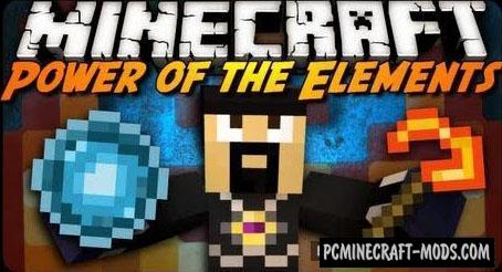 Power of the Elements - Swords Mod For Minecraft 1.15.2