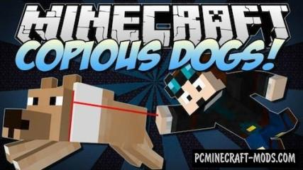 Copious Dogs Mod For Minecraft 1.6.4, 1.6.2