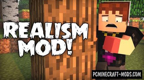 Realism Mod For Minecraft 1.7.10