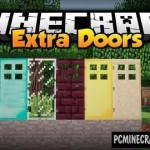 SnapDoors Mod For Minecraft 1.7.10