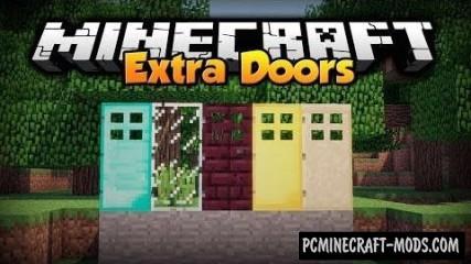 Extra Doors Mod For Minecraft 1.7.10