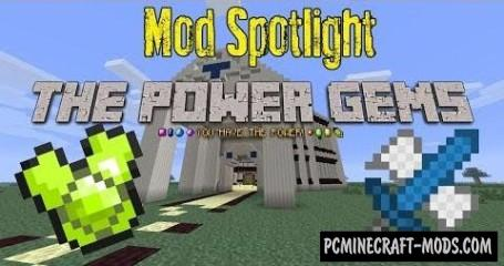 Power Gems Mod For Minecraft 1.7.10, 1.7.2, 1.6.4