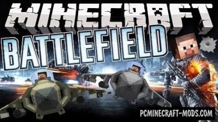 Battlefield Mod For Minecraft 1.7.10