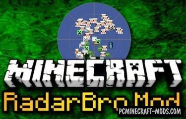 RadarBro - Minimap Mod For Minecraft 1.7.10, 1.7.2