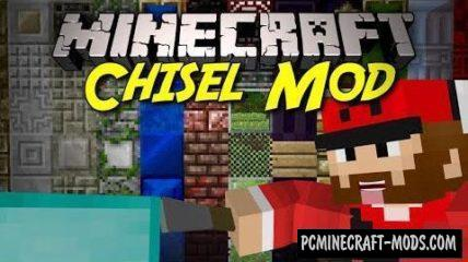 Chisel 2 - Sculptures Decor Mod For Minecraft 1.12.2