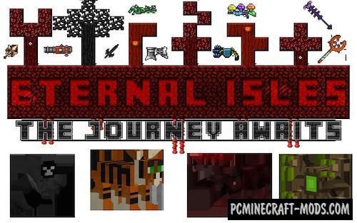 Eternal Isles Mod For Minecraft 1.7.10, 1.7.2
