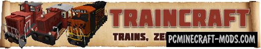 Traincraft Mod For Minecraft 1.6.4