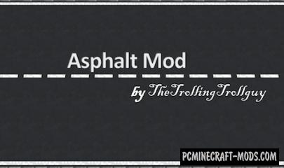 Asphalt Mod For Minecraft 1.6.4