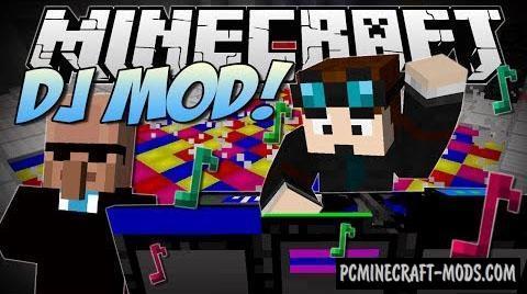 DJ Party Mod For Minecraft 1.6.4