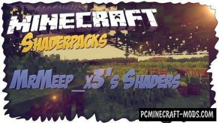 MrMeep_x3's Shaders Mod For Minecraft 1.8, 1.7.10, 1.7.2