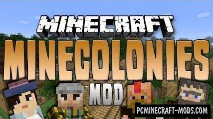 MineColonies - Adventure Mod For Minecraft 1.16.5, 1.12.2