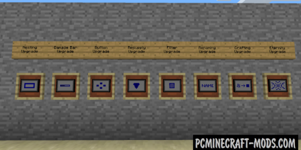 Iron Backpacks Mod For Minecraft 1.12.2, 1.11.2, 1.10.2, 1.7.10