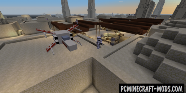 Star Wars Mod For Minecraft 1.7.2, 1.6.4