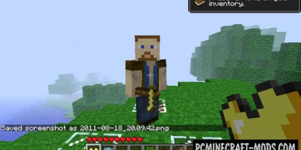 Herobrine - Adventure Mod For Minecraft 1.16.5, 1.7.10, 1.5.2