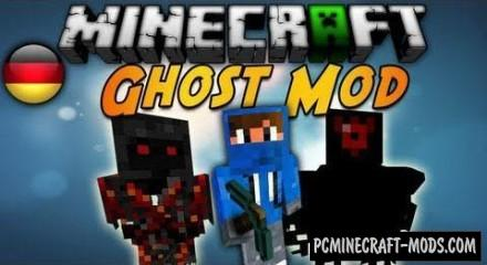 Ghost - Mobs, Weapons Mod For Minecraft 1.7.2