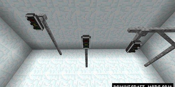 Lamps And Traffic Lights Mod For Minecraft 1.7.2, 1.6.4, 1.5.2