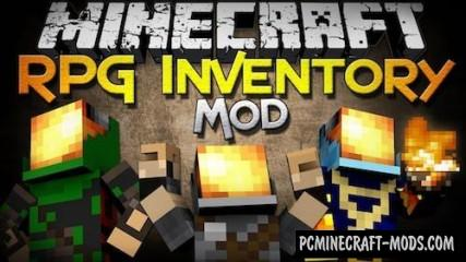 Rpg Inventory Mod For Minecraft 1.7.10, 1.6.4, 1.6.2, 1.5.2