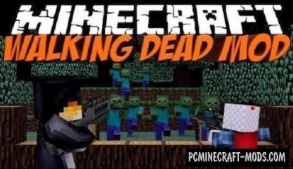 Walking Dead Mod For Minecraft 1.7.2, 1.6.4, 1.6.2, 1.5.2