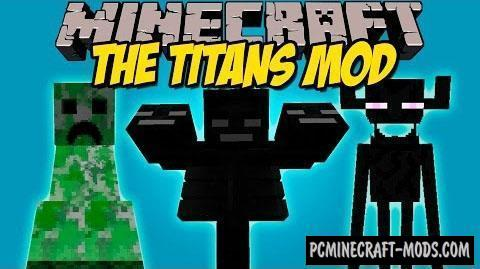 The Titans Mod For Minecraft 1.8